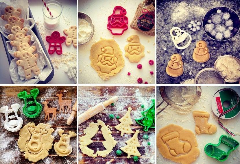 cortadores biscoito natal