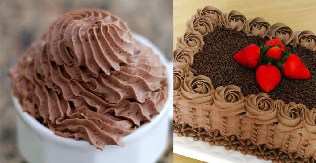 chantininho de chocolate