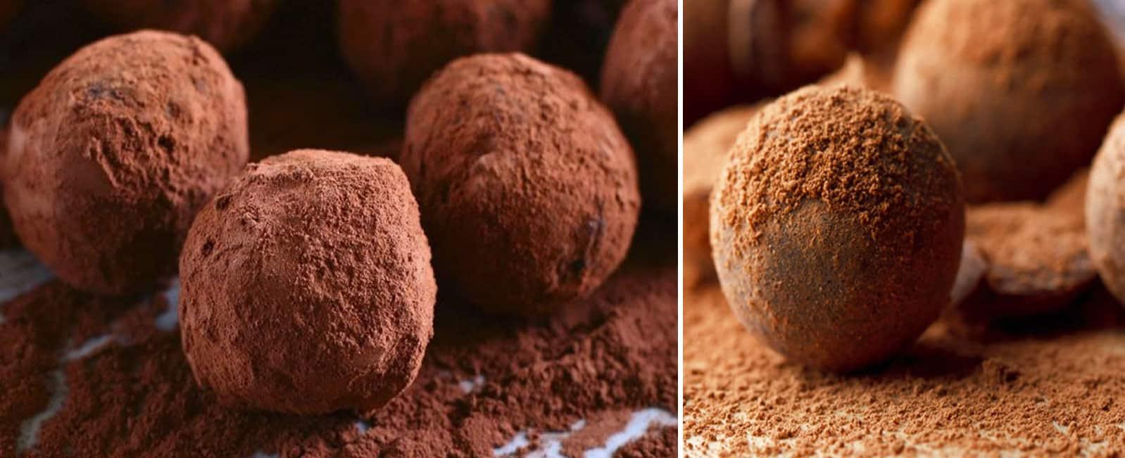 trufa chocolate