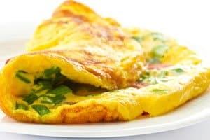 melhor omelete