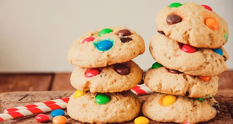 cookie m&ms