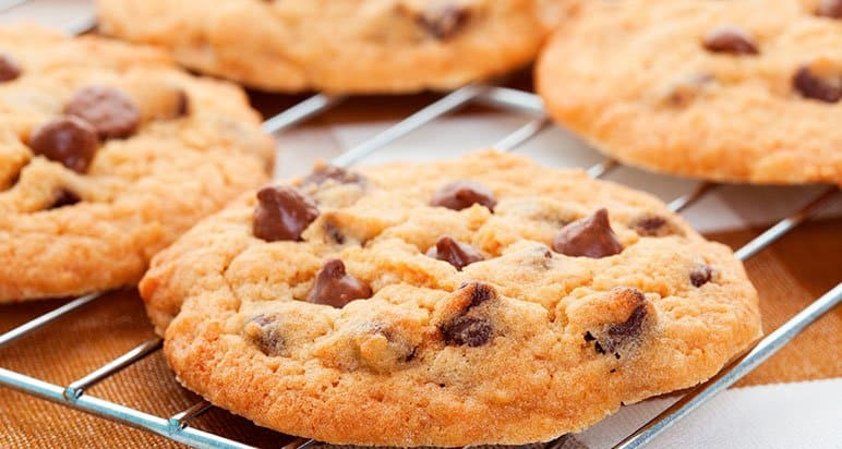 receita cookie tradicional