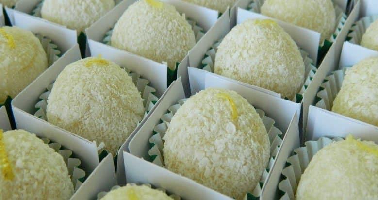 brigadeiro gourmet limao siciliano