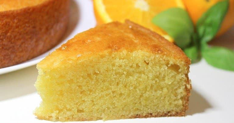 bolo de laranja liquidificador