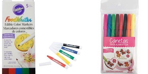 canetas alimenticia