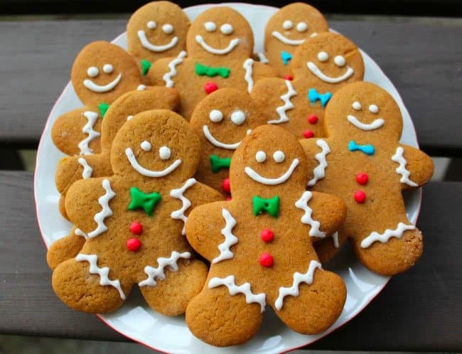 biscoito gingerbread natal