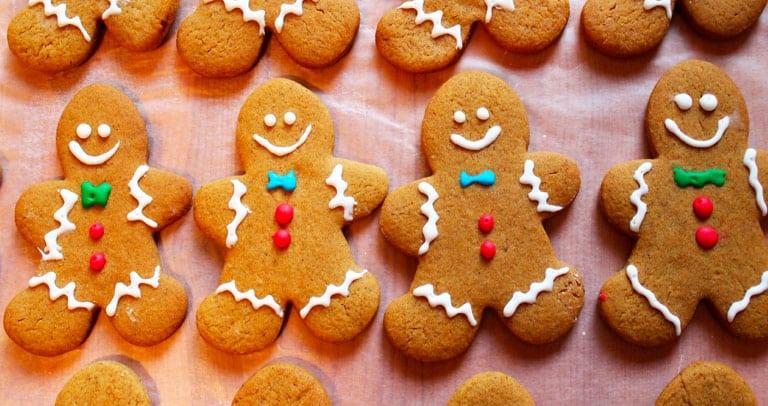 biscoito gingerbread receita