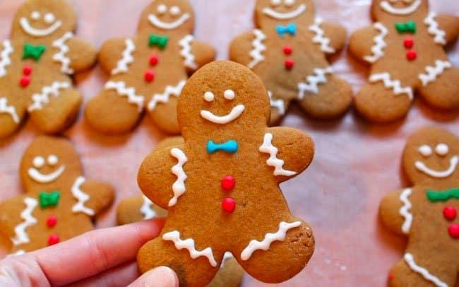 biscoito natal boneco