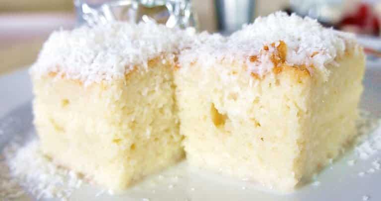 receita de bolo gelado coco