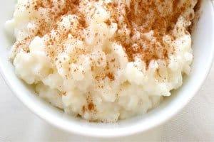 receita arroz doce