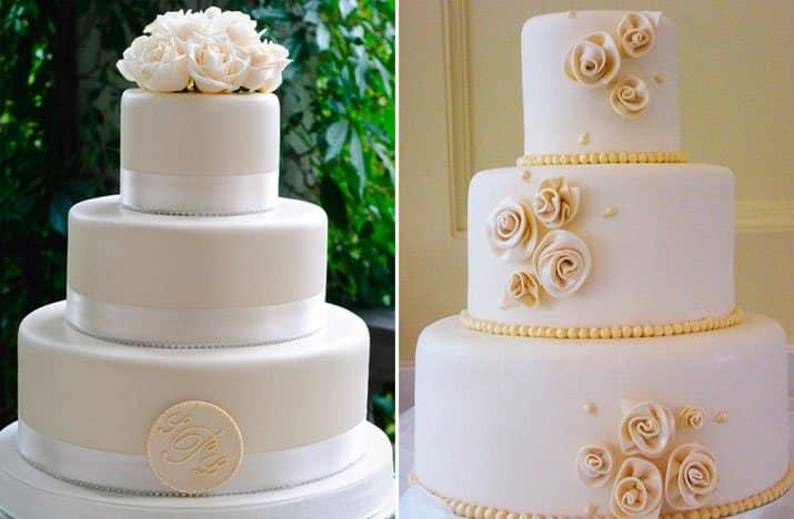 bolo casamento pasta americana