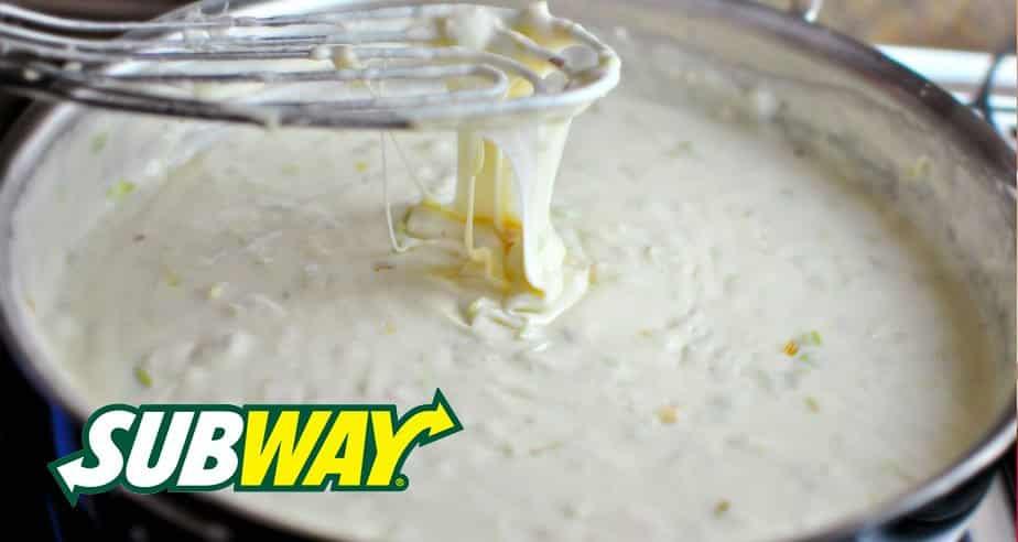 molho parmesao subway