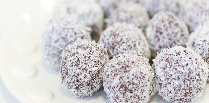 receita trufa de coco