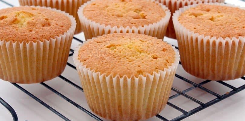 cupcake assado