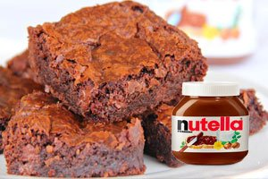 brownie nutellaf