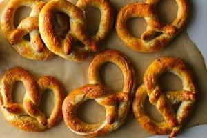 pretzel receita