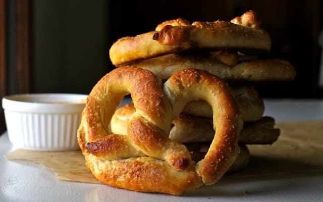 pretzel receita completa