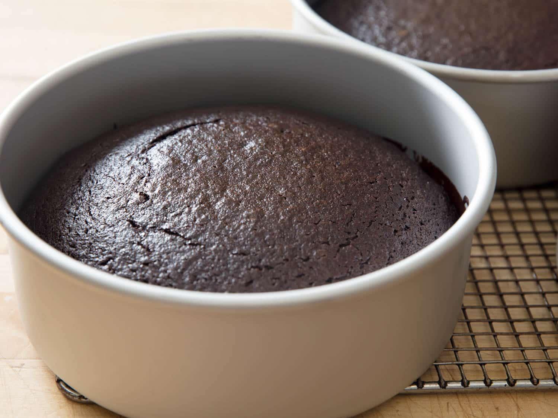 Devil's Food Cake massa