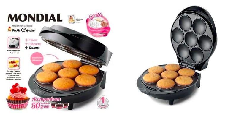 maquina de cupcake mondial