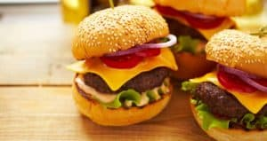 mini hamburguer gourmet