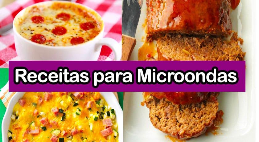 receitas microondas