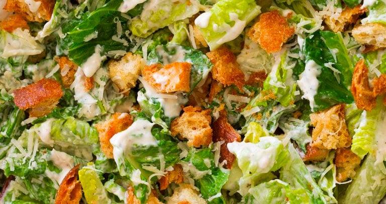 ceasar salad receita