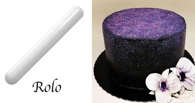glow cake rolo pasta americana