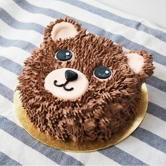 bolo peludo furry cake