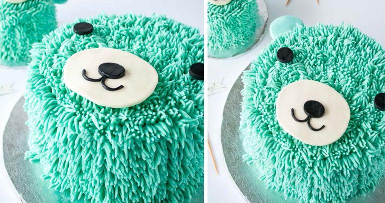 furry cake bolo peludo