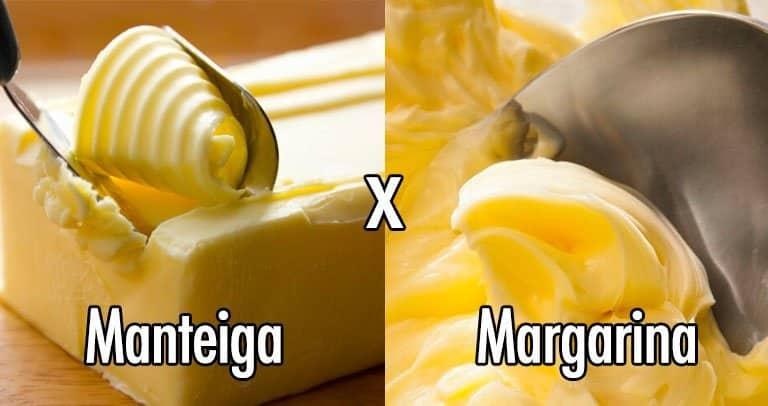manteiga e margarina diferencas
