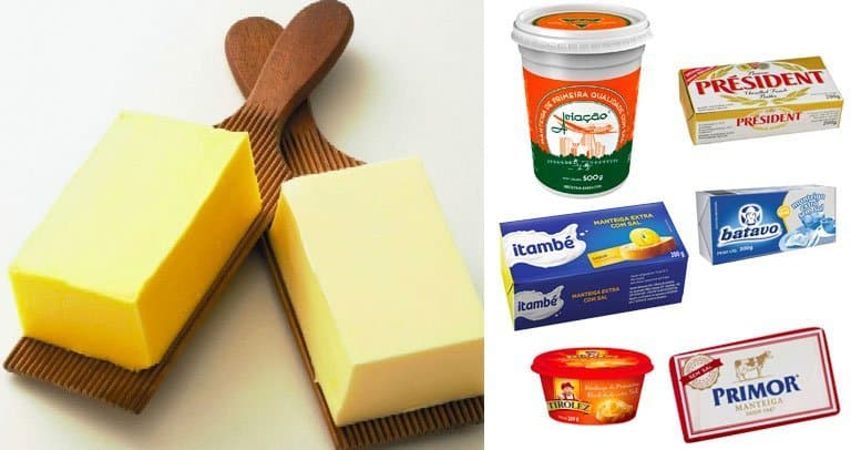 marcas de manteiga