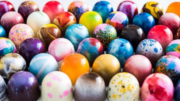 chocolate colorido bombom