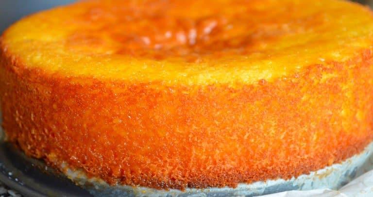 bolo laranja receita iorgute