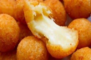 receita bolinha de queijo