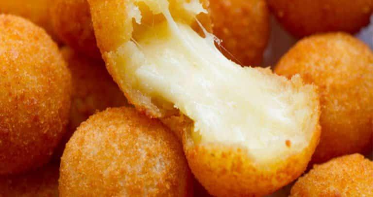 bolinha de queijo receita