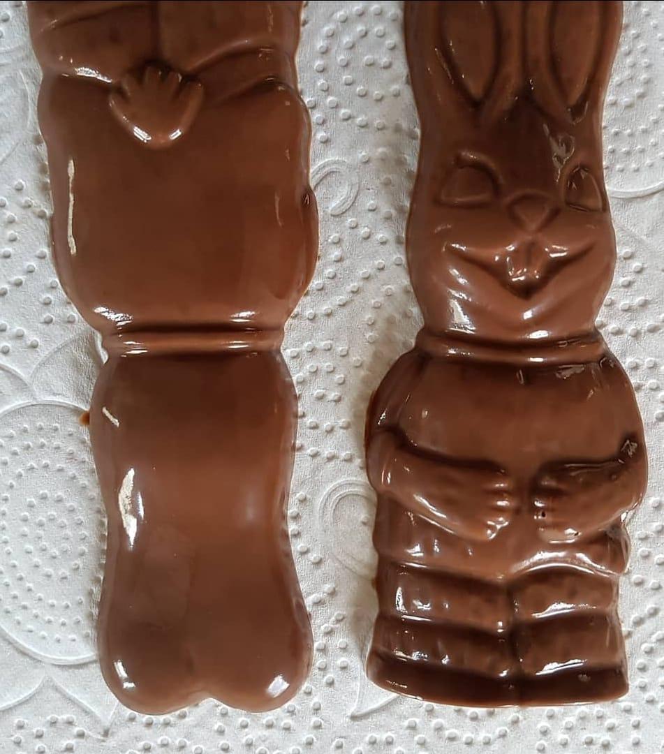 coelho chocolate caseiro