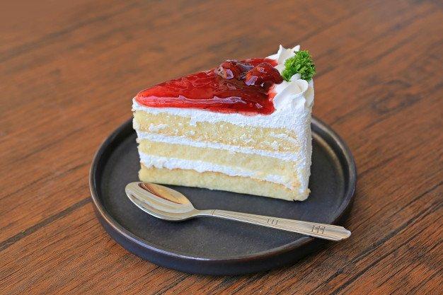 bolo mousse branco