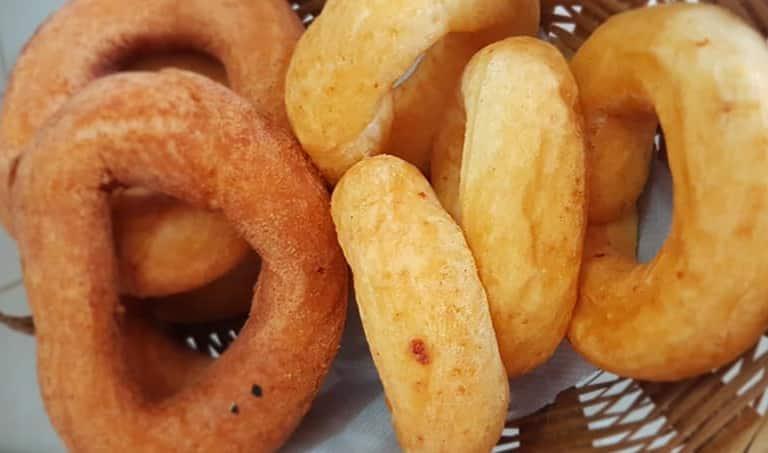 Biscoito Frito Doce