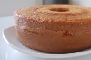 bolo simples de trigo