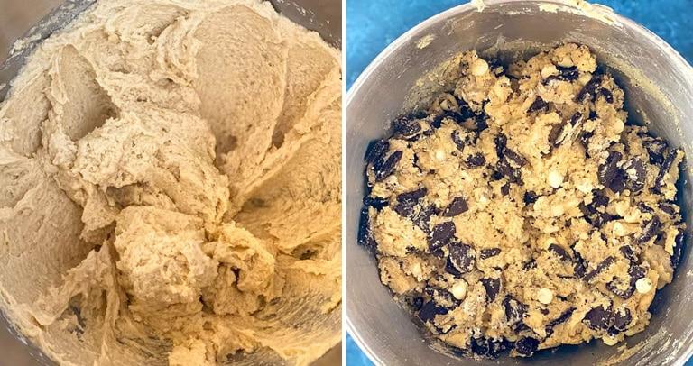 massa Cookie de Oreo