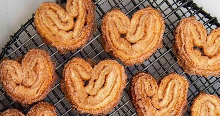 receita de biscoito palmier