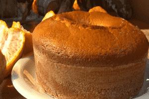 bolo de mexerica
