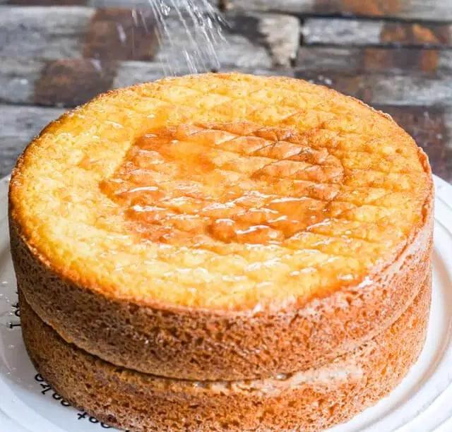 calda para bolo