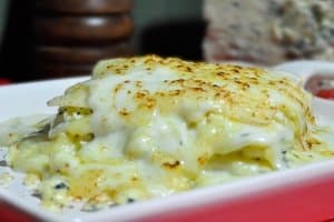 lasanha 4 queijos