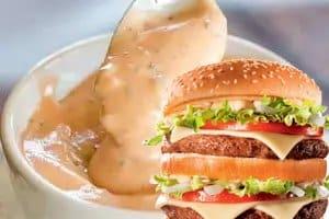 molho big tasty do McDonalds