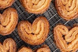 Receita biscoito Palmier