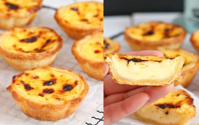Receita de Pastel de nata Portugal