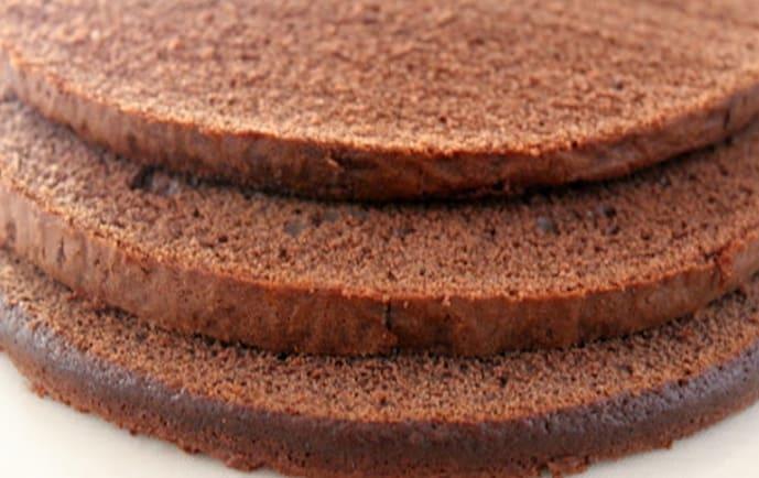 Pão Ló de Chocolate