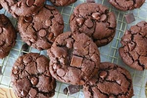 receita Cookie de Chocolate