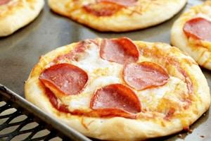 receita Mini pizza